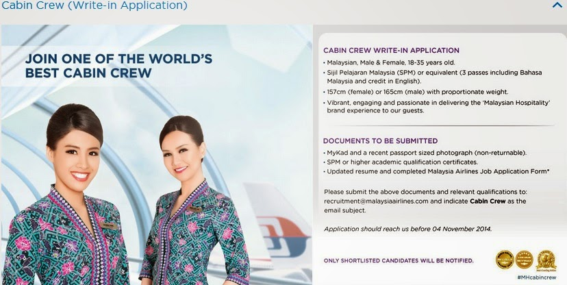 To Know More About Life As A Malaysia Airlines Cabin Crew You Can Check It Out At