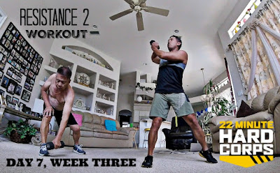 Day 7 Week Three 22 Minute Hard Corps Challenge, 22 minute hard corps resistance 2 workout, 22 Minute Hard Corps workout sheets, Beachbody Challenge, Coach Summit 2016, Beachbody Coach Summit Nashville 2016, Beachbody Coach Motivation
