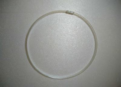 手順その2、耐圧チューブをチューブジョイントで円形に組む