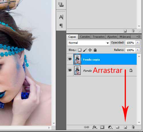 Colores más Intensos con Photoshop Paso 2