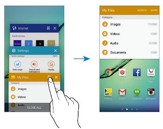 Samsung Galaxy S7 Multi Window Setting