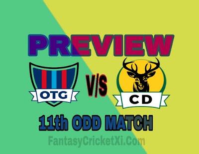 otago vs central districts 11th odd dream11 team