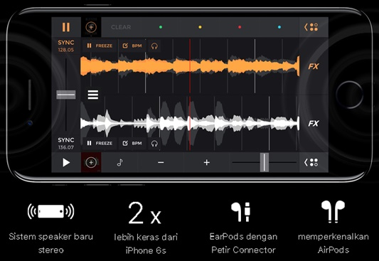 Audio - iPhone kini Stereo