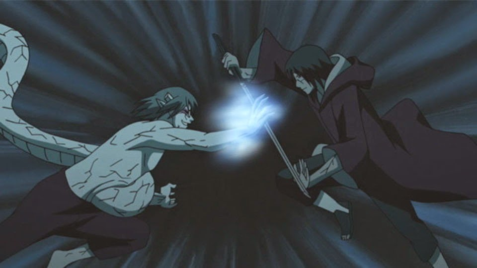 Kabuto vs Itachi