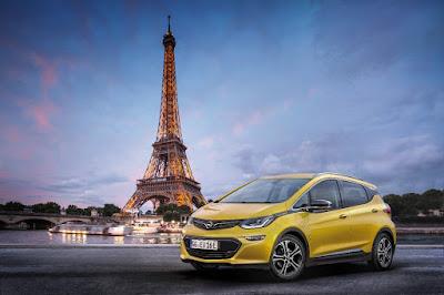"""Mondial de l'Automobile"" : Παγκόσμια πρεμιέρα του νέου Opel Ampera-e στο Παρίσι"