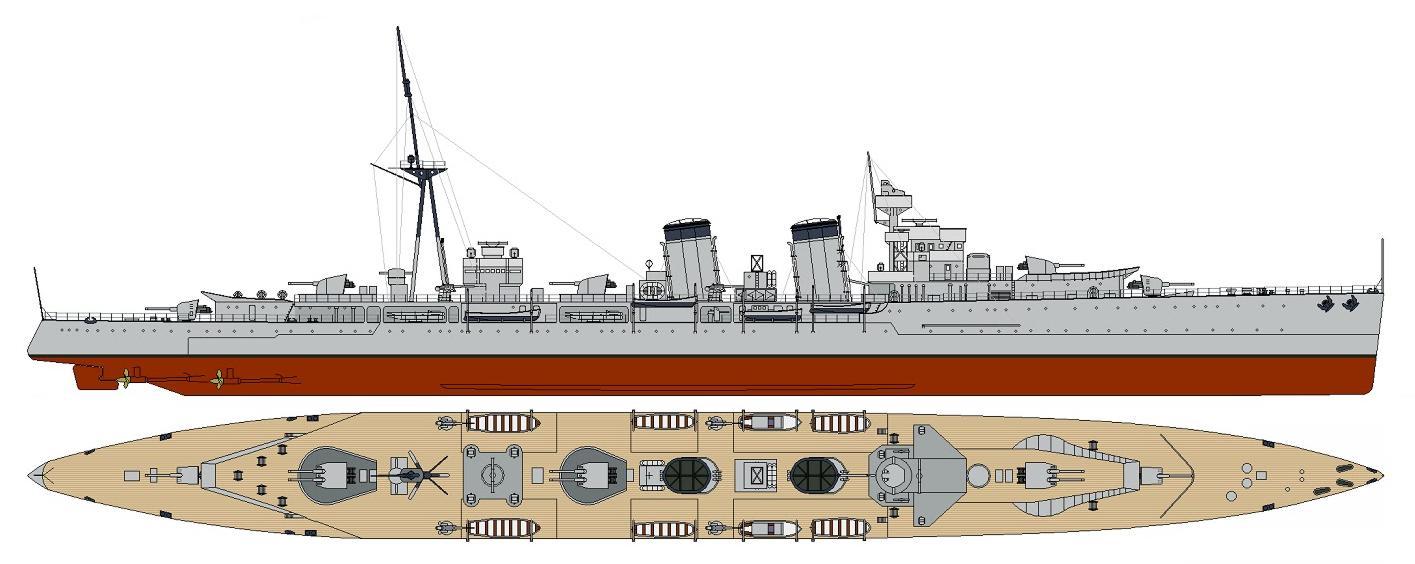 Crucero Almirante Cervera