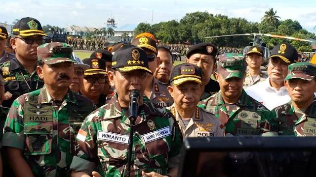 Pesan Wiranto, Jangan Saling Melemahkan Dan Menjatuhkan