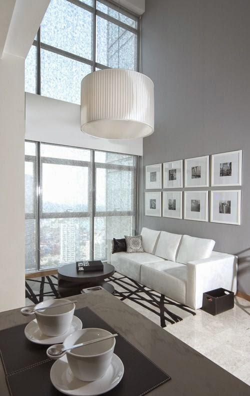 30 ideas de decoraci n de salas peque as modernas con fotos for Decoracion de salas pequenas con espejos