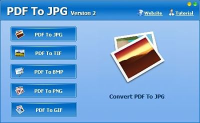 Convert PDF to JPGfor Easier File Sharing