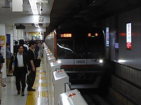 東京メトロ副都心線 通勤急行 志木行き2 東京メトロ10000系