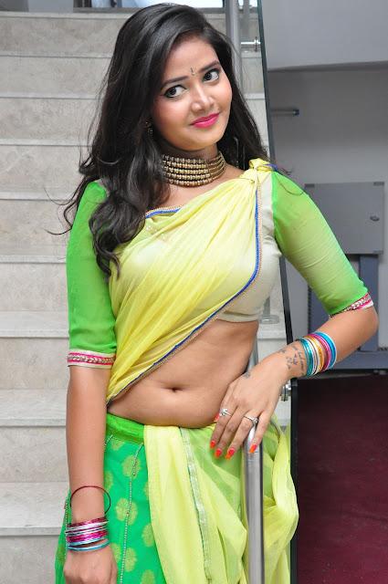 Shreya Vyas Looking In Half Saree