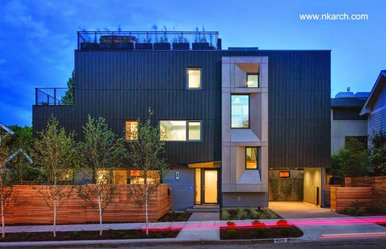 Primera casa pasiva en Seattle Estados Unidos