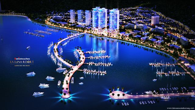 Swisstouches La Luna Nha Trang - Siêu dự án condotel Bến du thuyền