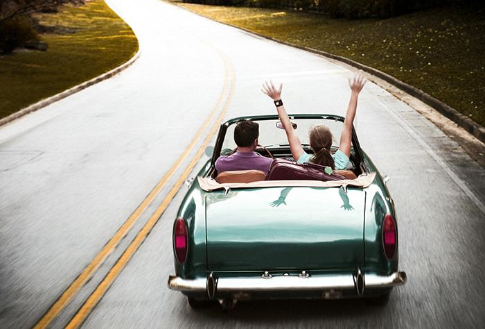 noleggio auto weekend on the road