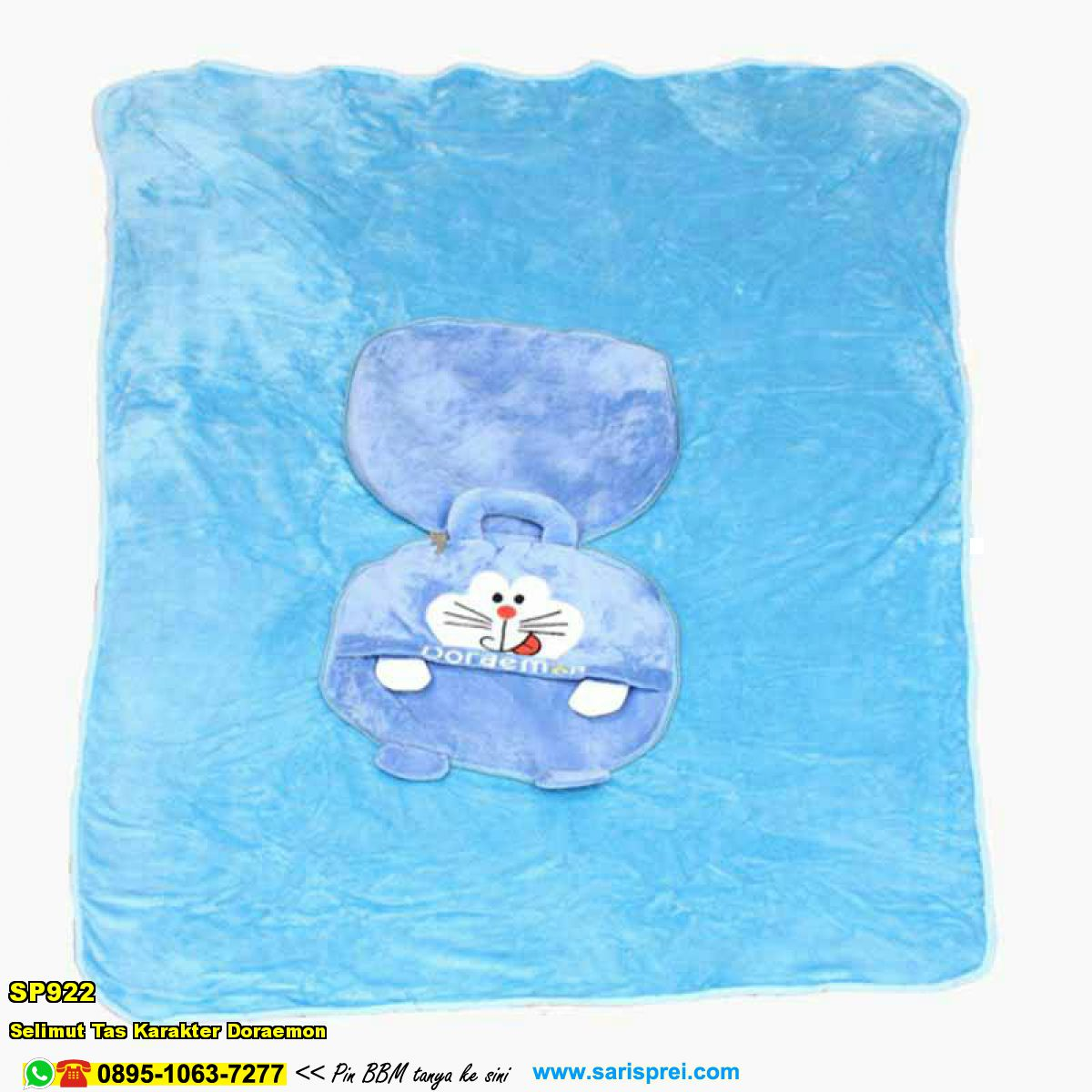 Grosir Sprei Cantik Selimut Tas Karakter Stitch Biru Ungu Kartun 100x150 Cm