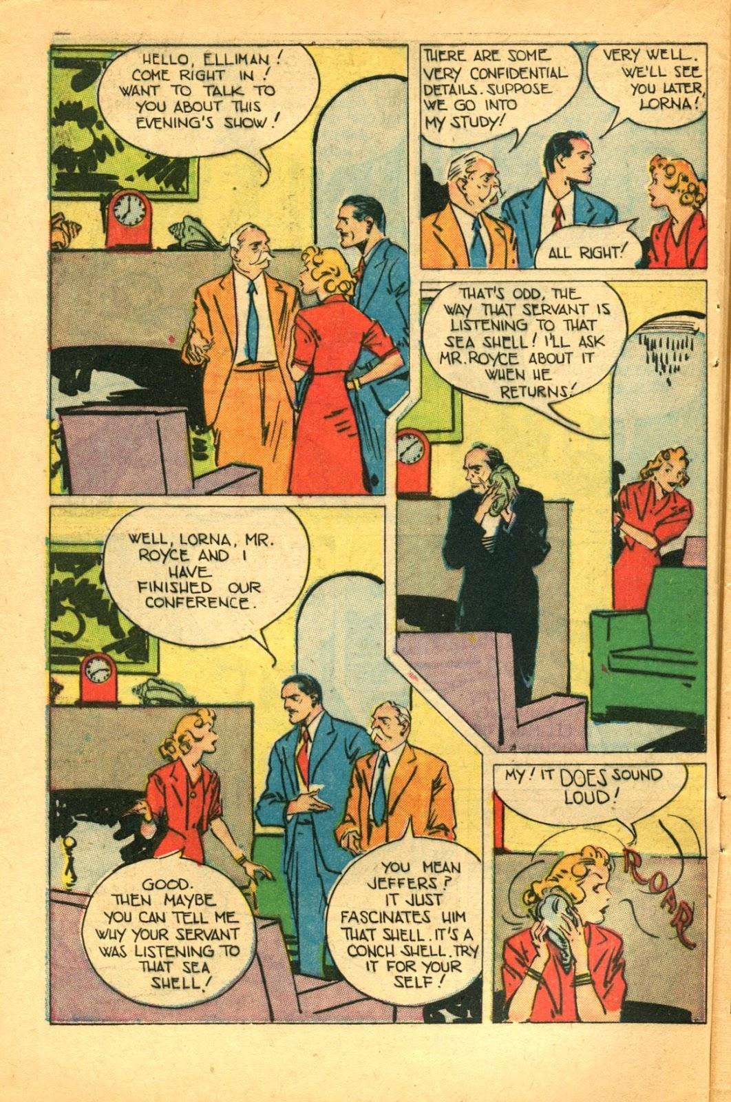 Read online Super-Magician Comics comic -  Issue #49 - 6