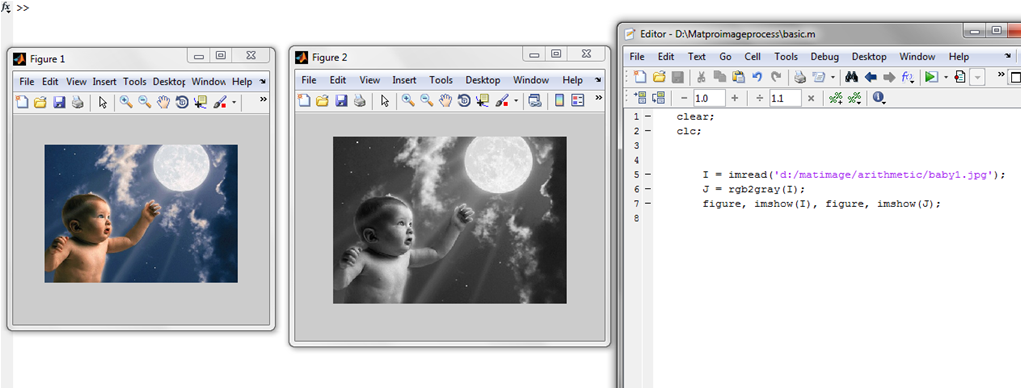 Write a MATLAB program for convert image color RGB to Gray