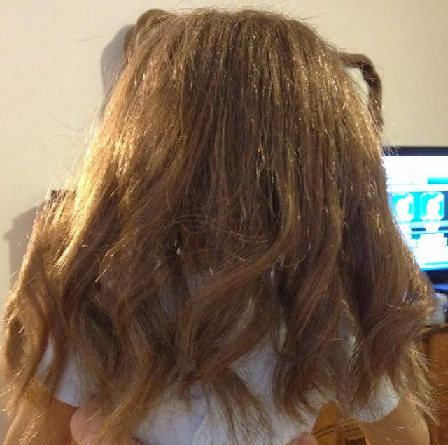 american girl doll hair frizzy