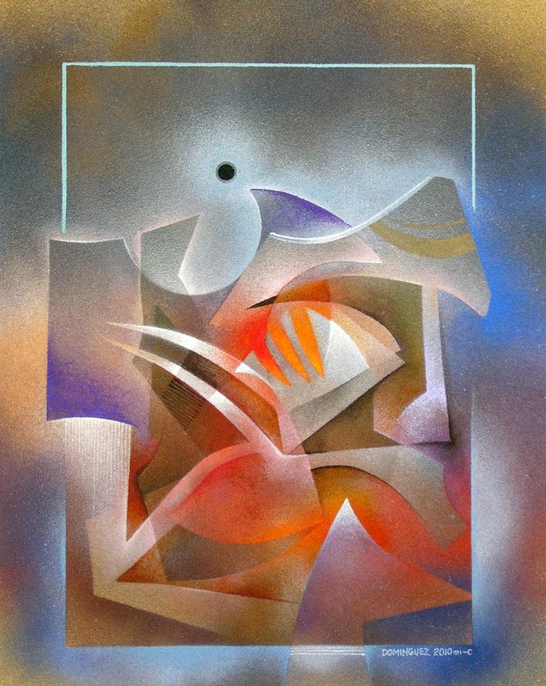 A Questão - Conrado Domínguez e algumas de suas belas pinturas ~ Pintor mexicano