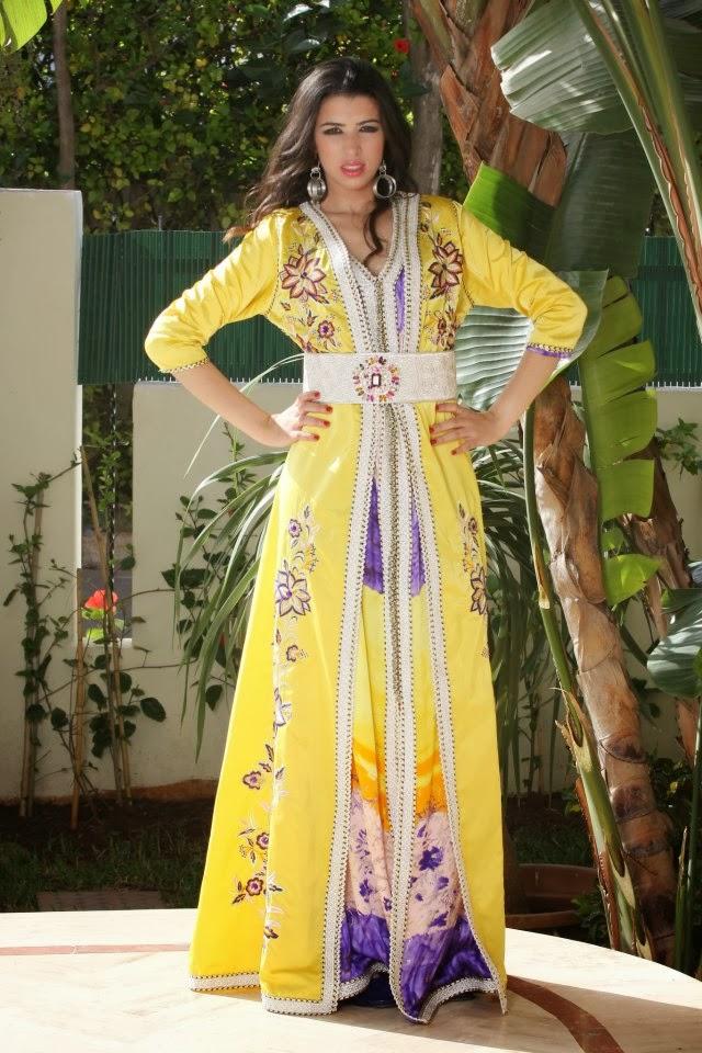 ... que des robes marocaines – caftans de luxe à couper le souffle qui vous  rend les plus ravissantes et chics lors de vos grands évènements orientales. e61370adcc5