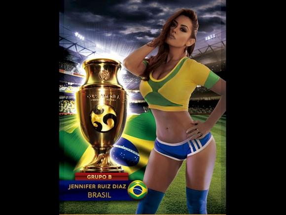 Sexy Copa America (pics)
