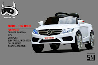 Mobil Mainan Aki Wimcycle SM C300 Mercedez Benz