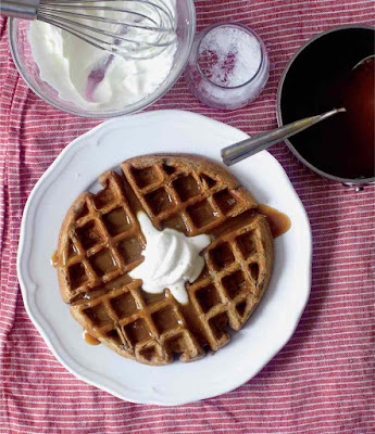 Quick and Easy Sticky Toffee Waffles Recipe