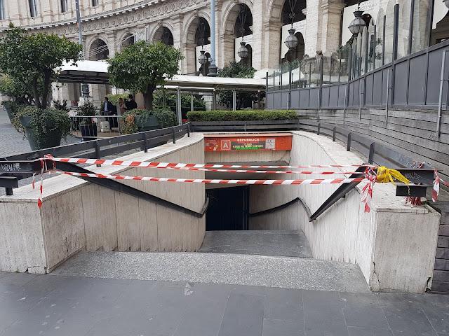 Roma, Pasqua senza metro in centro: restano chiuse stazioni Spagna, Repubblica e Barberini
