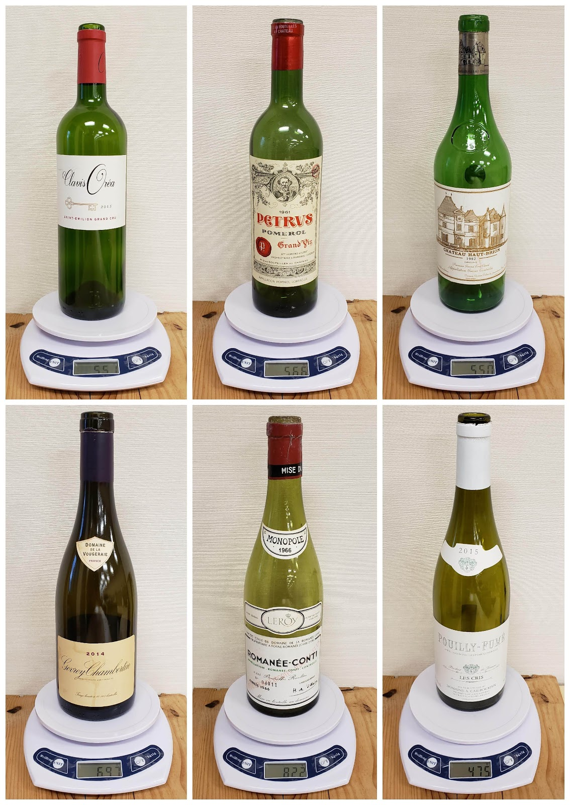LeDomduVin: Wine Bottle Weight, Shape, Glass and Label