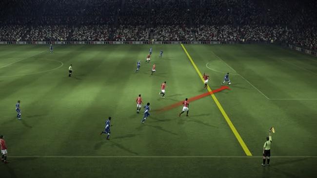 peraturan offside dalam sepakbola