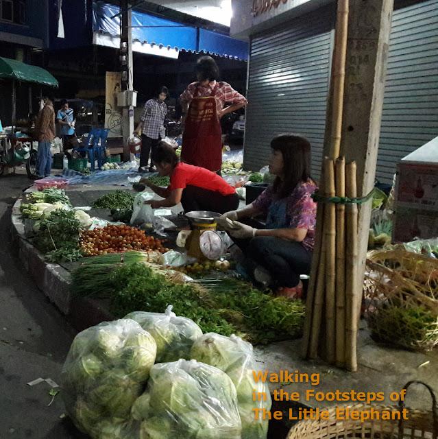 Nan Morning Market in Nan - Thailand