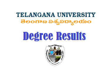 Telangana University Degree Results