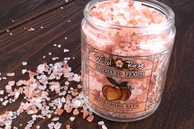 Orchard Peach Nourishing Bath Salts