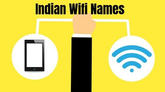 indian wifi names