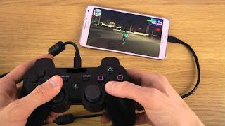 cara bermain game ppsspp android menggunakan stik