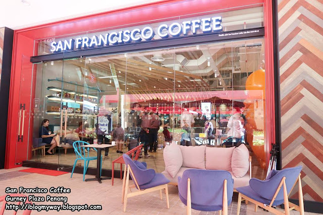 San Francisco Coffee Gurney Plaza Penang