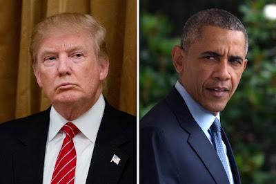 قبل أن يغادر البيت الأبيض.. أوباما يترك رسالة لترامب على مكتبه