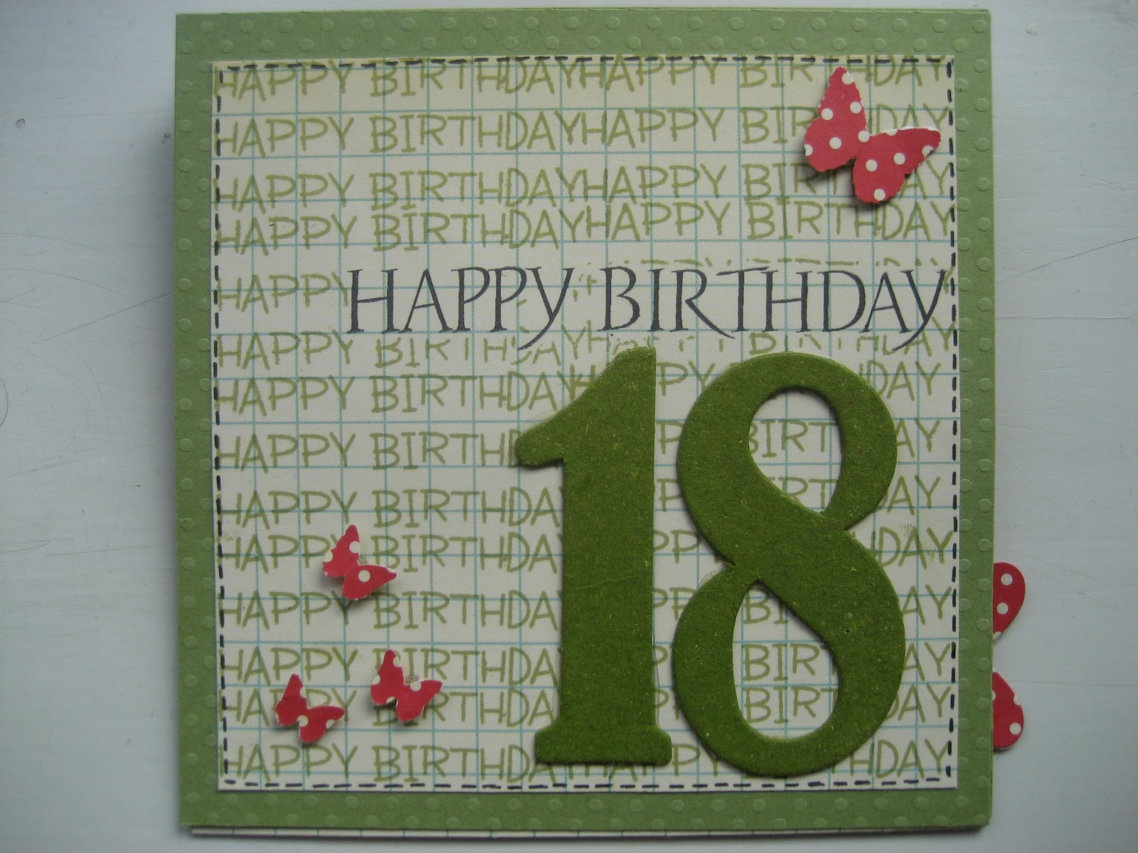 18 års kort Mios scrapblog: 18 års fødselsdag 18 års kort