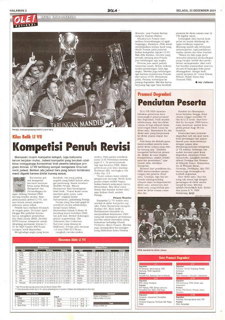 KILAS BALIK LIGA INDONESIA VII KOMPETISI PENUH REVISI