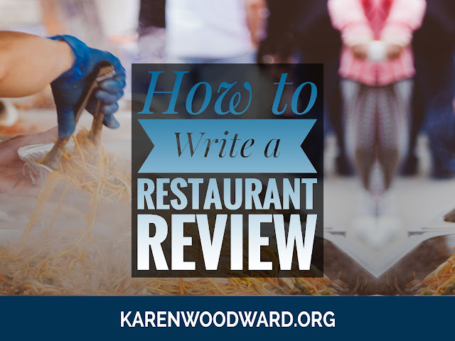 How to Write a Restaurant Review