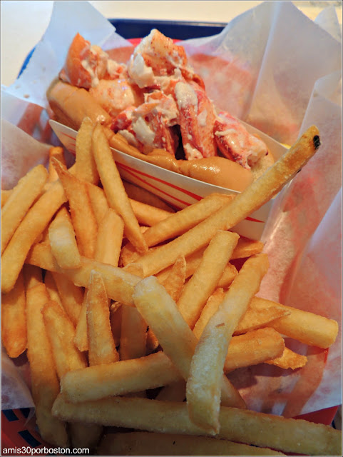 Lobster Roll en Kittery, Maine