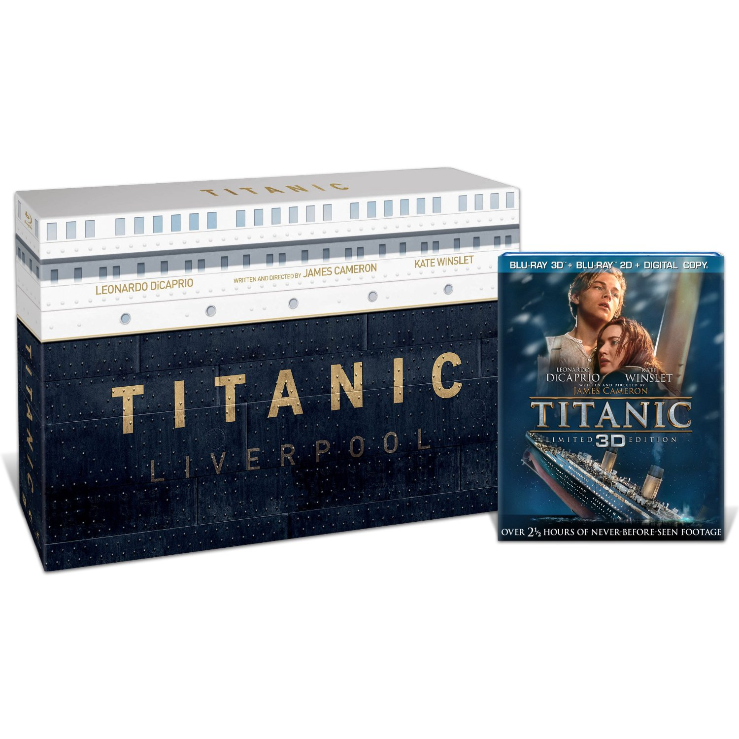 14157d11a Pre-order link: The US Titanic Collector's Edition (Blu-ray 3D / Blu-ray /  Digital Copy)