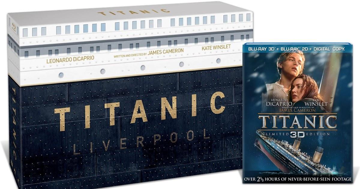 The Moovi Metro: PRE-ORDER: Titanic Collector's Edition (Blu