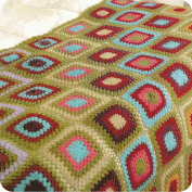 Colcha Full Color a Crochet