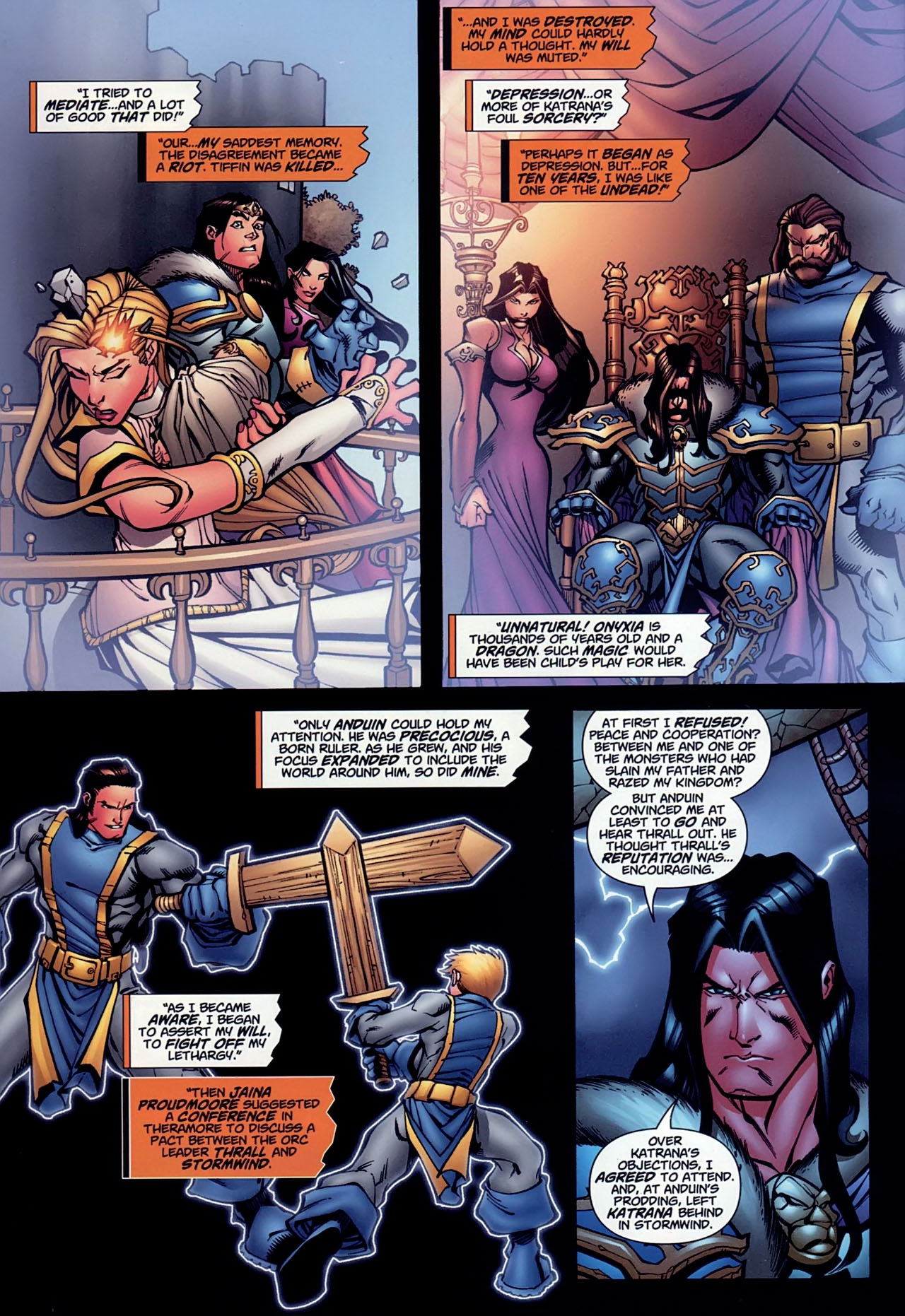 Read online World of Warcraft comic -  Issue #13 - 9