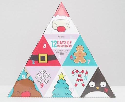 Mad Beauty 12 Days of Christmas Advent Calendar