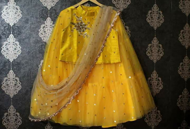 Fancy Kids Lehenga with Duppatta