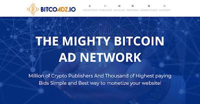 أسست شركة Bitcoadz في سنة 2017 ، تقبل جميع المواقع بدون مشاكل ، لا تشترط أي شروط صارمة كجوجل أدسنس ، تتميز بإعلانات جميلة  و سريعة ، و تدفع بجميع عملات البتكوين .  و تدفع عائد جيد لكل ألف ظهور .