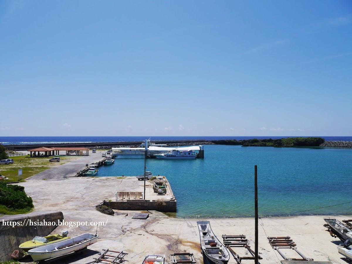 沖繩-景點-離島-外島-久高島-港口-自由行-旅遊-Okinawa-kudaka-island