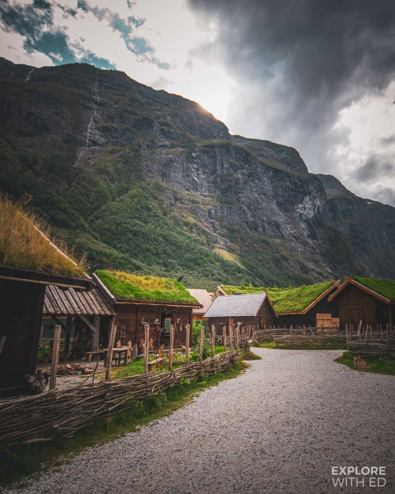 Njardarheimr Viking Valley town